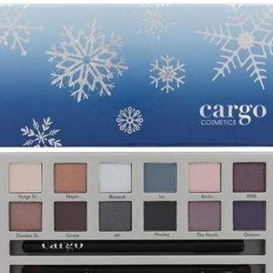 NIB CARGO CHILL IN THE SIX EYESHADOW PALETTE